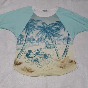 Disney Tops - Authentic Disney Parks Mickey Minnie Shirt